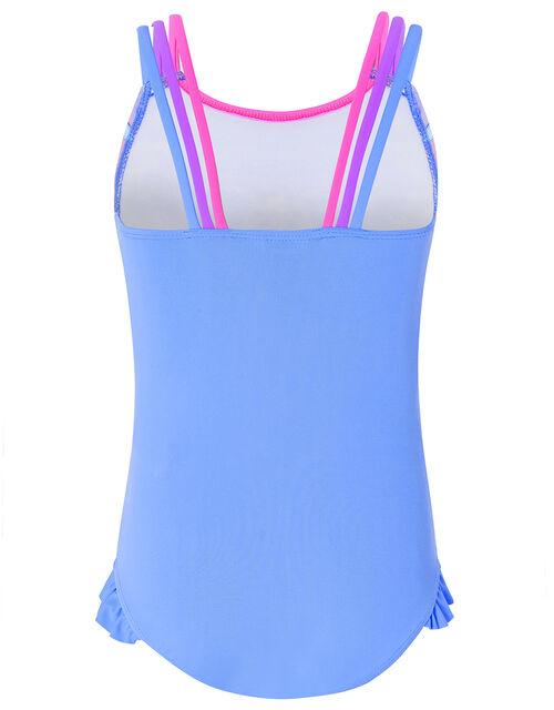 Phoebe Unicorn Print Swimsuit, Purple (LILAC), large
