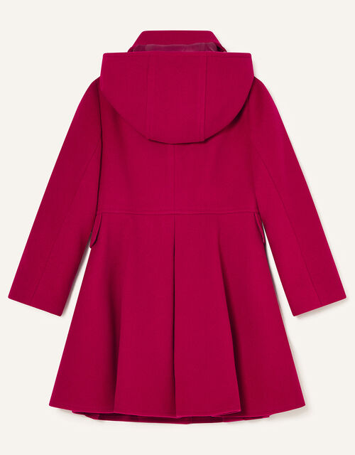 Back to School Hooded Coat, Red (RED), large