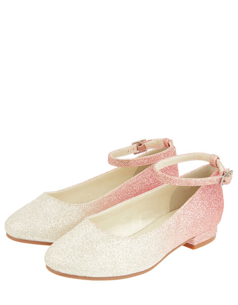 Ombre Glitter Shoes Pink, Pink (PINK), large