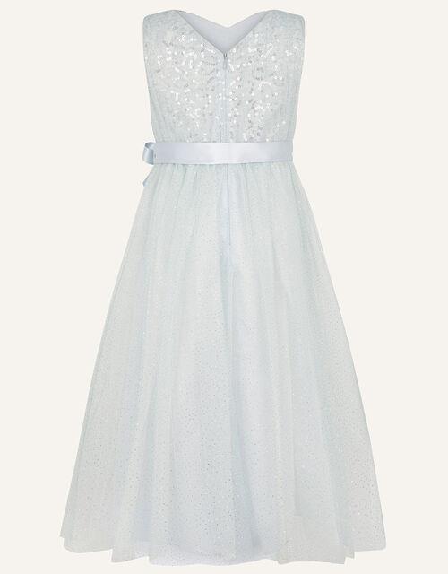 Luna Sequin Maxi Dress , Grey (GREY), large