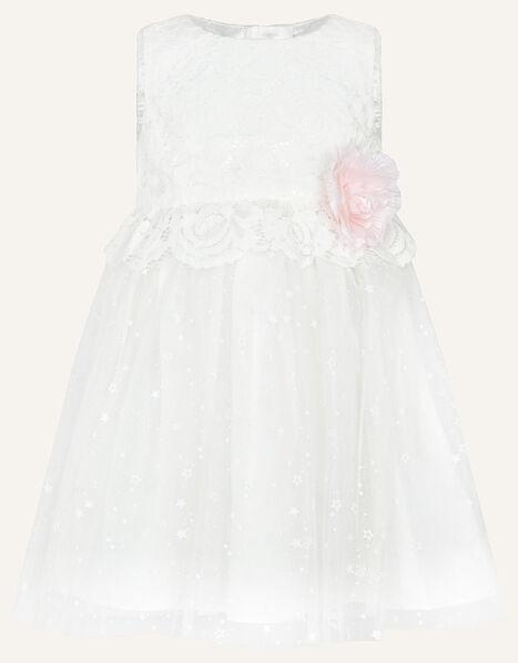 Baby Nieve Lace Bridesmaid Dress Ivory, Ivory (IVORY), large