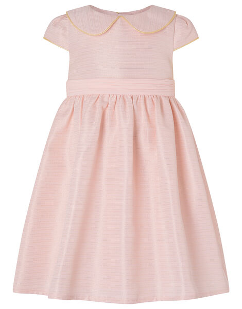Baby Collared Dress Pink, Pink (PALE PINK), large