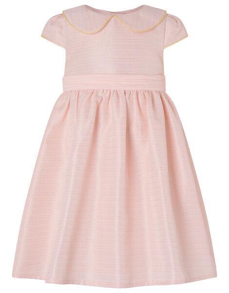 Baby Collared Dress Pink, Pink (PALE PINK), large
