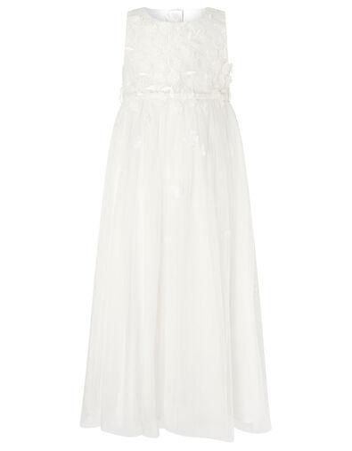 Petunia 3D Petal Maxi Dress  Ivory, Ivory (IVORY), large