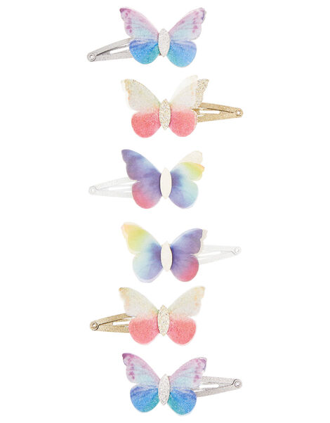 Flutter Butterfly Hair Clip Set, , large