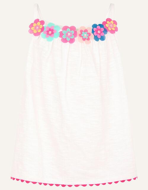 Fiesta Flower Cami , White (WHITE), large