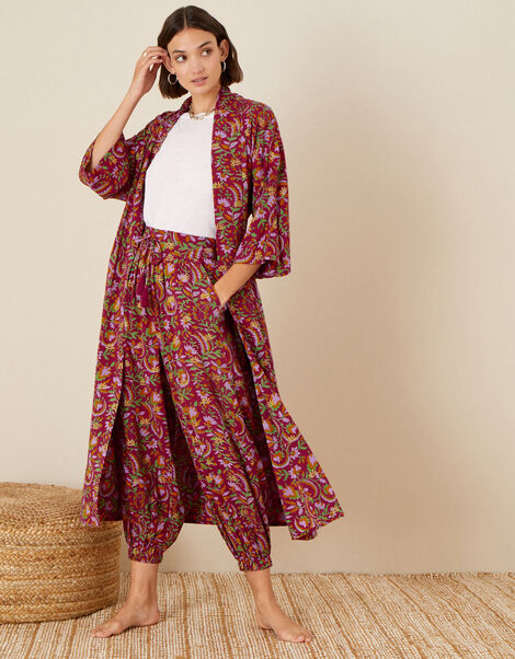 ARTISAN STUDIO Hareem Trousers Red, Red (BERRY), large
