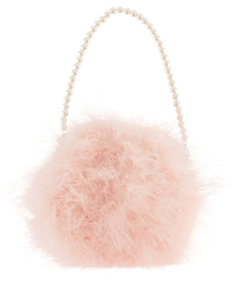 Fluffy Pom Bag, , large