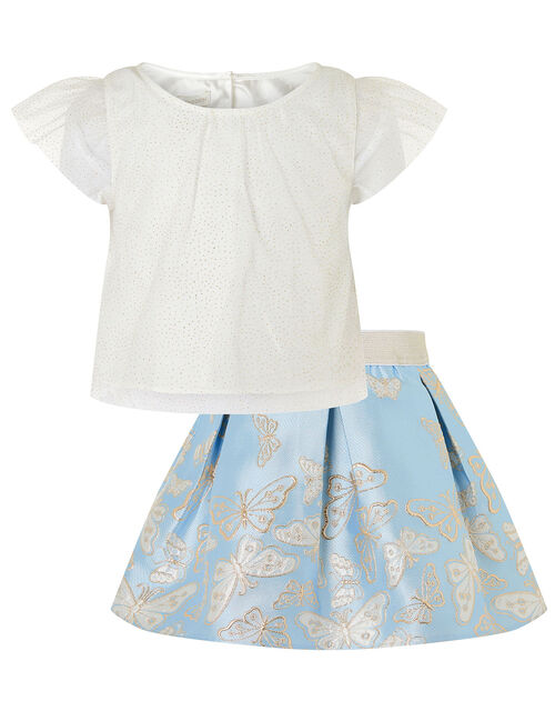 Baby Cascading Butterfly Set, Blue (BLUE), large
