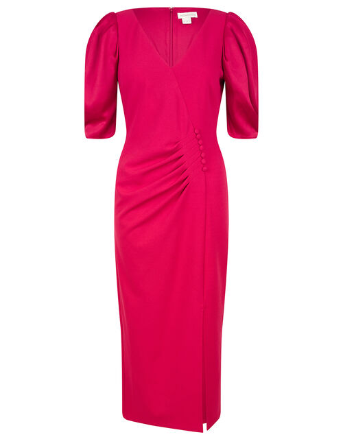 Eleanore Stretch Shift Dress, Pink (PINK), large