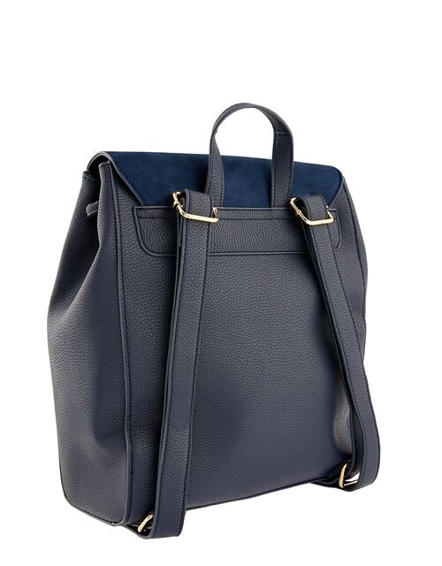 Paxton Pocket Backpack, Blue (NAVY), large
