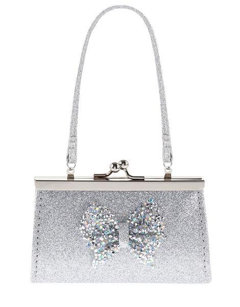 Dazzle Bow Mini Bag , , large