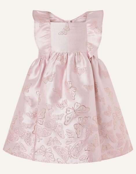 Baby Cascading Butterfly Dress  Pink, Pink (PINK), large