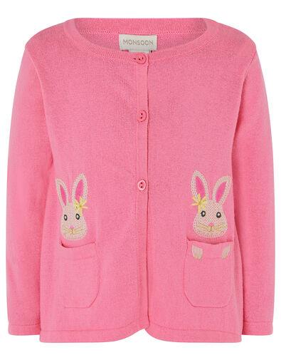 Baby Bunny Cardigan Pink, Pink (PINK), large