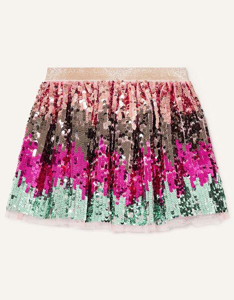 Sequin Skirt Multi, Multi (MULTI), large
