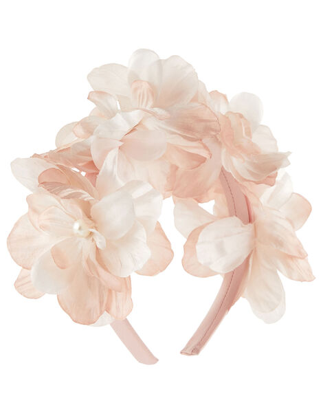 3D Flower Garland Headband, , large