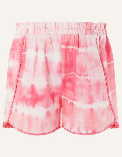 Tie Dye Jersey Shorts  Pink, Pink (PINK), large