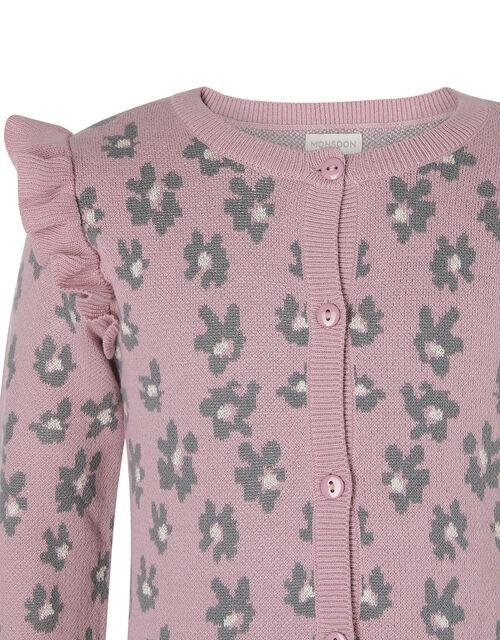 Animal Knit Cardigan, , large