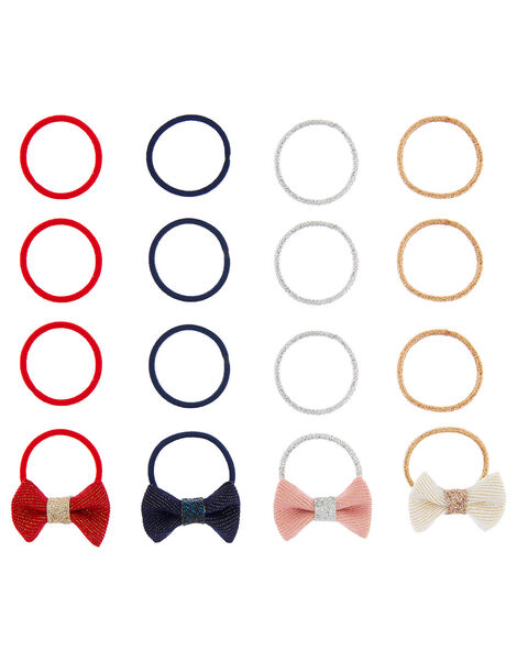 Mini Bow Hair Band Multipack, , large