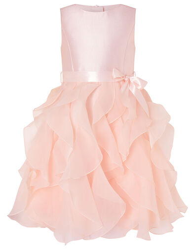 Cannes Ruffle Dress Pink, Pink (PINK), large