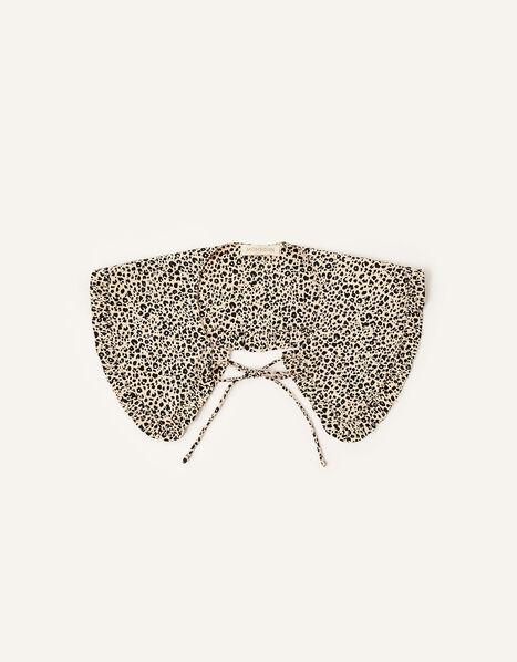 Animal Print Tie Collar , , large