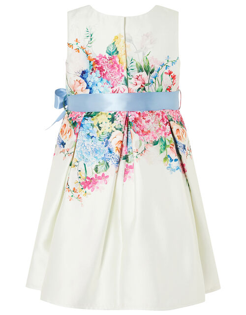 Baby Floral Print Dress , Ivory (IVORY), large