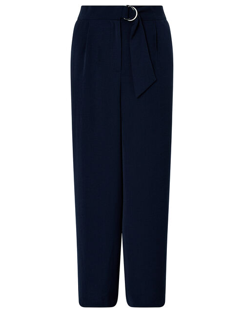 Mindy D-Ring Cropped Trousers, Blue (NAVY), large