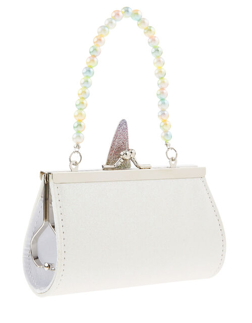 Rainbow Blush Unicorn Mini Bag, , large