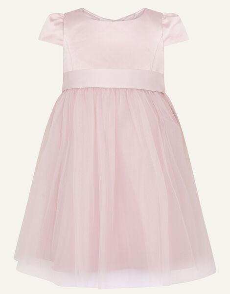 Baby Tulle Skirt Bridesmaid Dress Pink, Pink (PINK), large