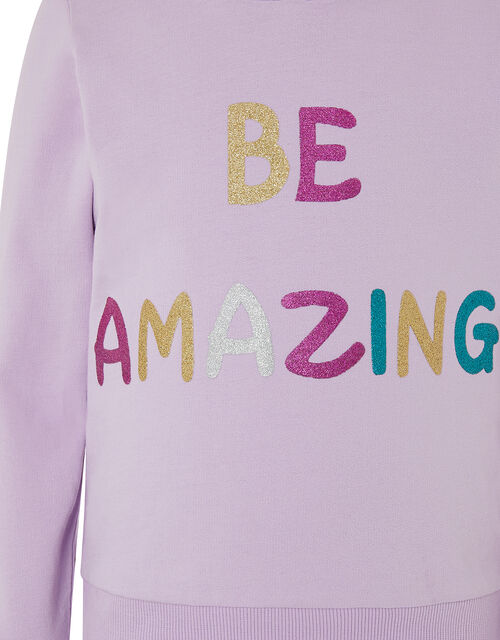 Be Amazing Hoody, Purple (LILAC), large