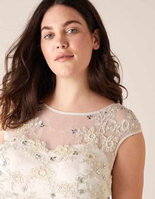 Isabella Bridal Dress, Ivory (IVORY), large