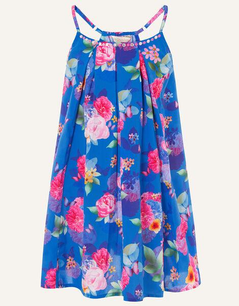 Whitney Floral Print Dress Multi, Multi (MULTI), large