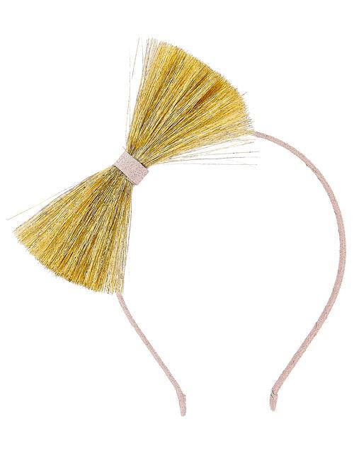 Tassel Bow Headband, , large