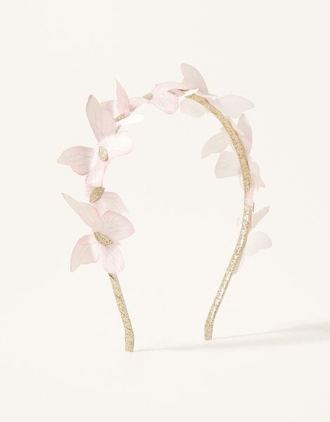 Flutter Butterfly Glitter Headband, , large