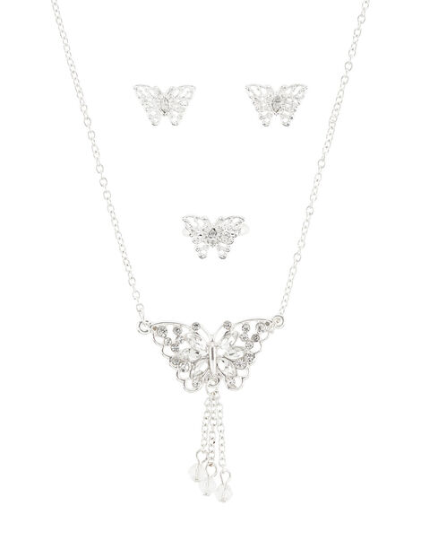 Carmen Butterfly Jewellery Set , , large