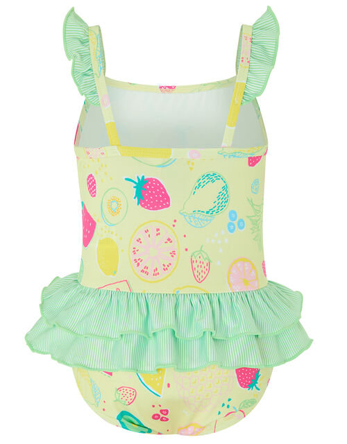 S.E.W Baby Berrie Fruit Swimsuit, Yellow (YELLOW), large