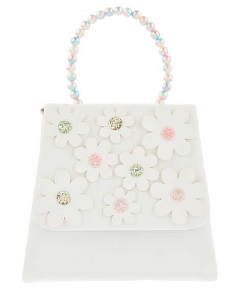 Rainbow Pearl Daisy Bag , , large