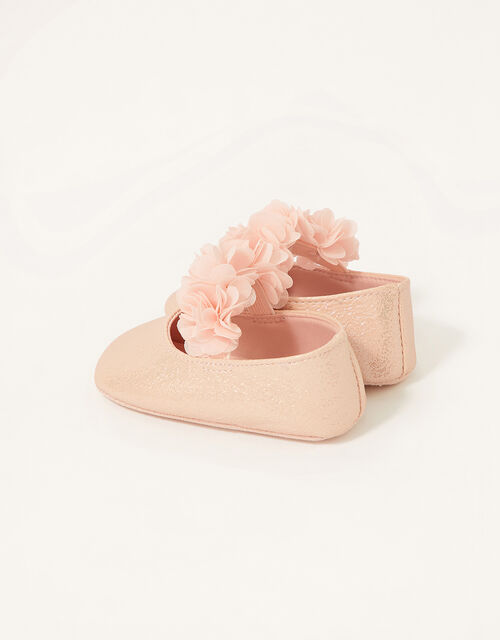 Textured Corsage Booties, Pink (PINK), large