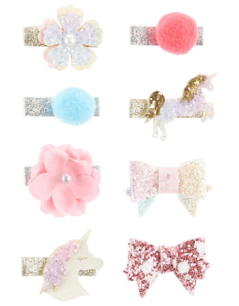 Unicorn Bow Clip Multipack , , large