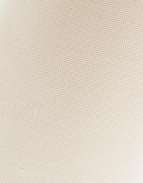 Nylon Tights Set, Ivory (IVORY), large