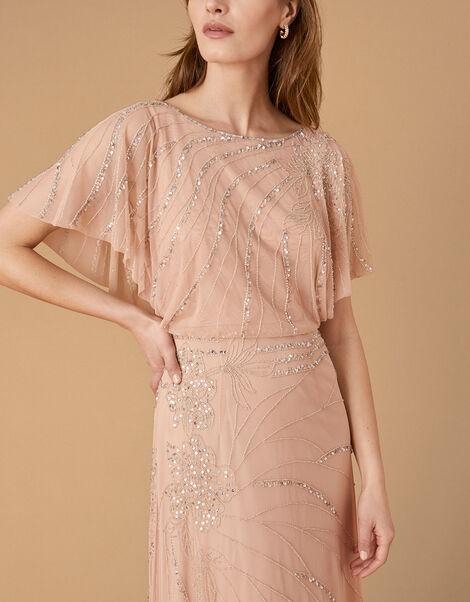 ARTISAN Autumn Floral Maxi Dress Pink, Pink (PINK), large