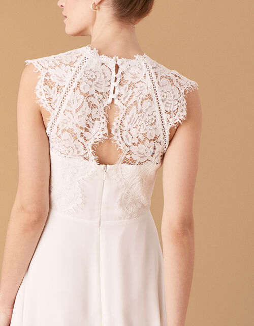 Lilian Lace Bridal Dress, Ivory (IVORY), large