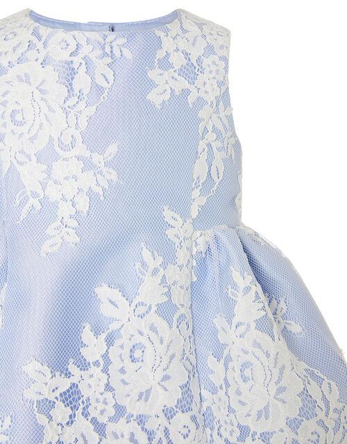 Baby Lace Dress, Blue (BLUE), large