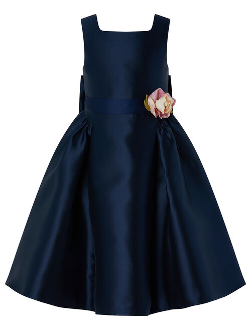 Cynthia High-Low Occasion Dress, Blue (NAVY), large