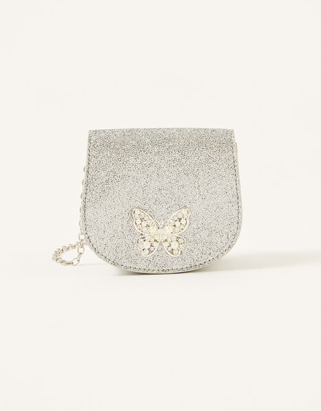 Butterfly Glitter Bag, , large