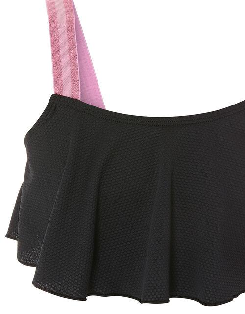Storm Elastic Strap Bikini Set, Black (BLACK), large