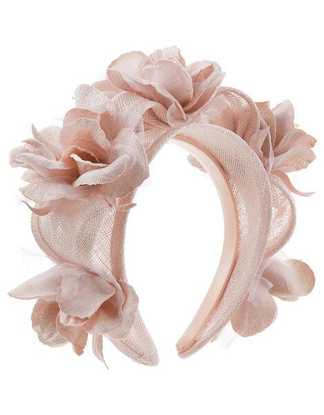 Fifi 3D Flower Headband Pink, Pink (BLUSH), large