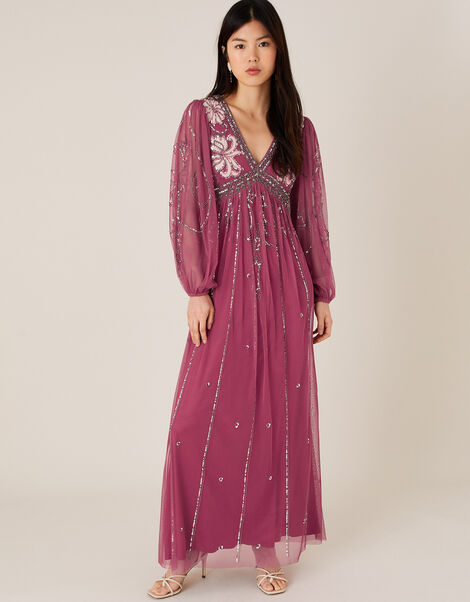 ARTISAN Regina Embellished Dress Pink, Pink (PINK), large