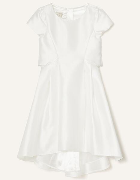 Duchess Twill Bridesmaid Dress Ivory, Ivory (IVORY), large