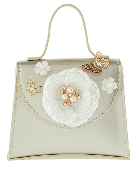 Dulcie Daisy and Butterfly Patent Bag, , large